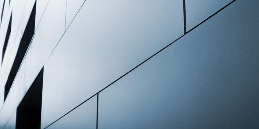 Solid Aluminium Glazing